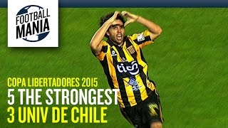 The Strongest 5x3 Universidad de Chile - Copa Libertadores 2015 - Group Stage