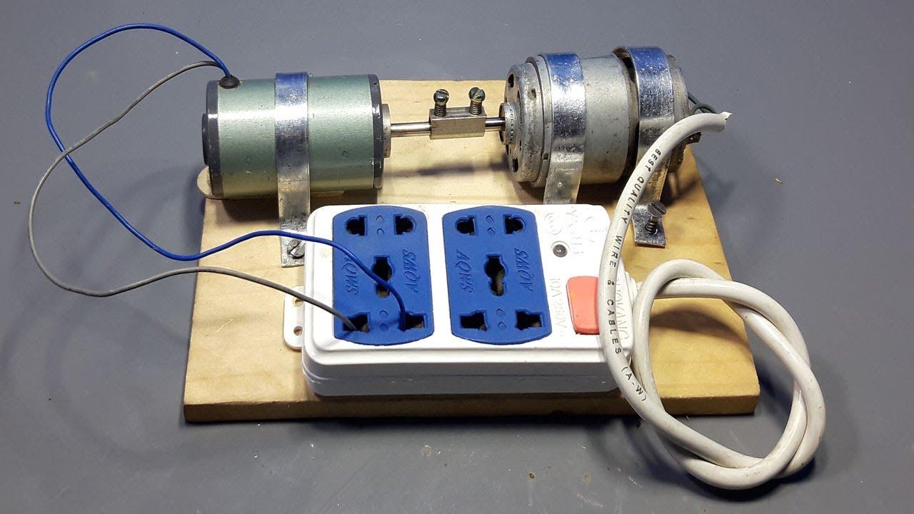 220v Generator Homemade _ Free Energy