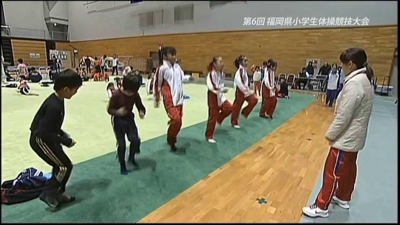 2013年 第6回福岡県小学生体操競技大会取材part1