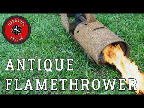 Antique Flamethrower [Restoration]