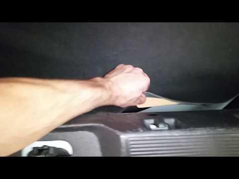 - Ford Flex SUV - Spare Tire Location In Cargo Area - Floor Jack & Lug Nut Wrench Below