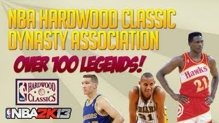 NBA 2k13 Hardwood Classic Dynasty Association Ep. 1! Draft Time!