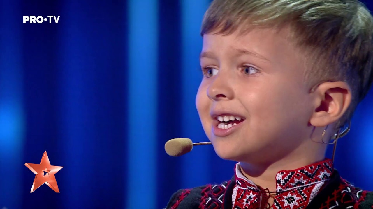 Romanii Au Talent Vlad Ciobanu Youtube