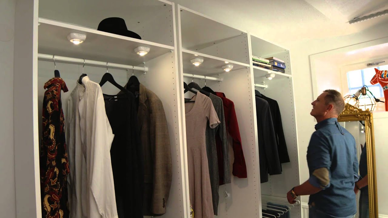 se halvors smarte tips for bruk av led-lys i din garderobe - youtube