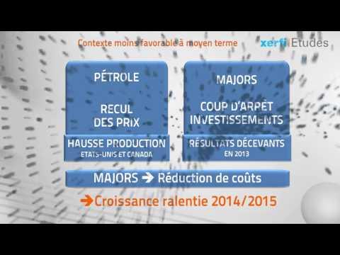 Xerfi France, L'exploration-production d'hydrocarbures