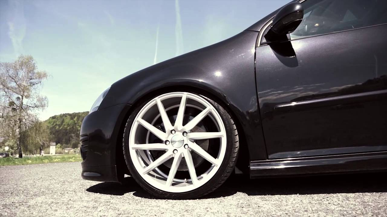 Volkswagen Mk5 With Vossen Cv T Youtube