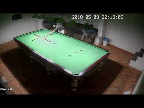 Maqsood ahmed made 132 clearance  in red shot snooker club