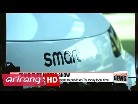 Frankfurt International Motor Show opens Thursday, Kia and Hyundai