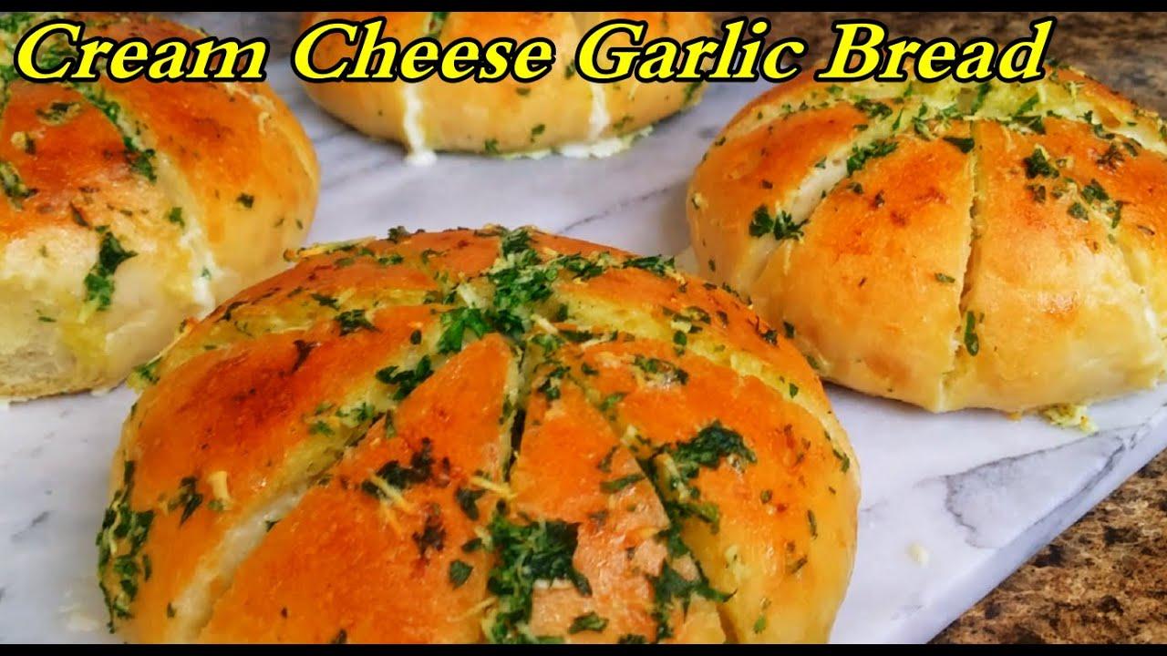 Cream Cheese Garlic Bread👌من اشهر الاكلات الشعبيه الكوريه .