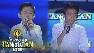 Tawag ng Tanghalan Kids: Mackie Empuerto vs. Lift John Demonteverde