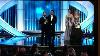 """A Separation"" by Asghar Farhadi from Iran winning the Golden Globe."