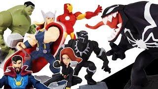 Marvel Avengers Disney Infinity 2.0 & Toybox, Go~! Hulk, Iron Man, Spider Man, Captain America