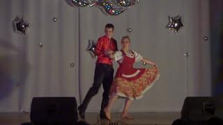 27.Антонов Александр, Данилова Анастасия-Танец Барыня