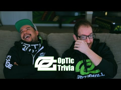 GUESS THAT VIDEO GAME CHARACTER!? - OpTic Trivia presented by Brisk MATE