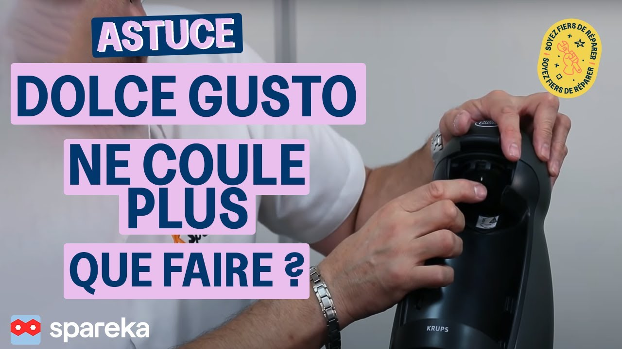 astuce ma dolce gusto ne coule plus que faire youtube. Black Bedroom Furniture Sets. Home Design Ideas