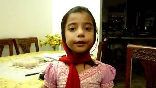 Baby speech presented by khalid Qadiani