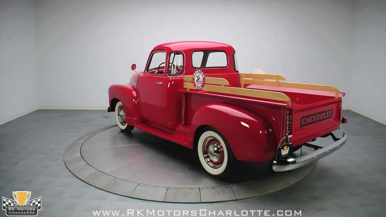 1954 Chevrolet 3100 Pickup Truck Chevy Colors