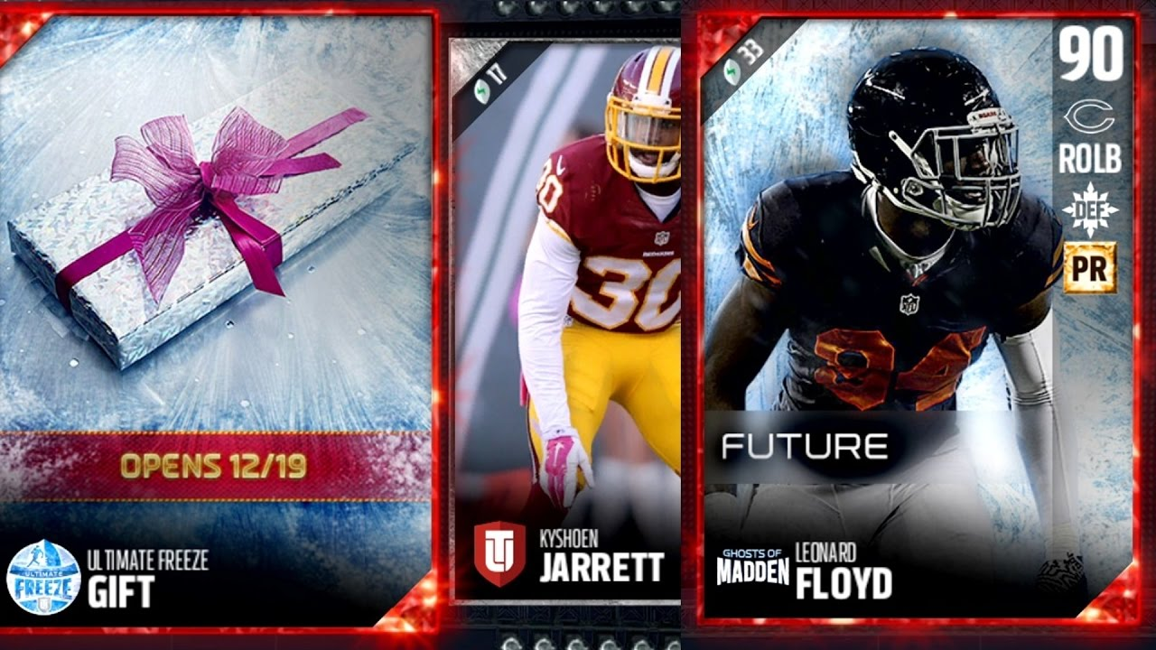 Madden 17 Ultimate Team - Ultimate Freeze Packs! What Are My Gifts ...