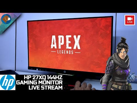 HP 27XQ 144HZ Gaming Monitor | Apex Legends Live Stream Mp3