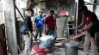 PGII GUARDIANS preparar para Naga lanslide Victims 2018