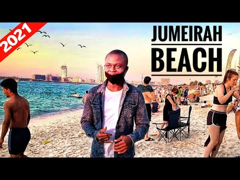 JUMEIRAH Beach Dubai VLOG  ||  How It Looks and Places in 2021