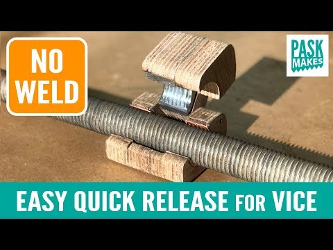 Easy Quick Release Vice Mechanism