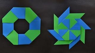 Origami: Transforming Ninja Star (8 tips)