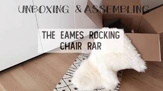 UNBOXING & ASSEMBLY: Rocking chair