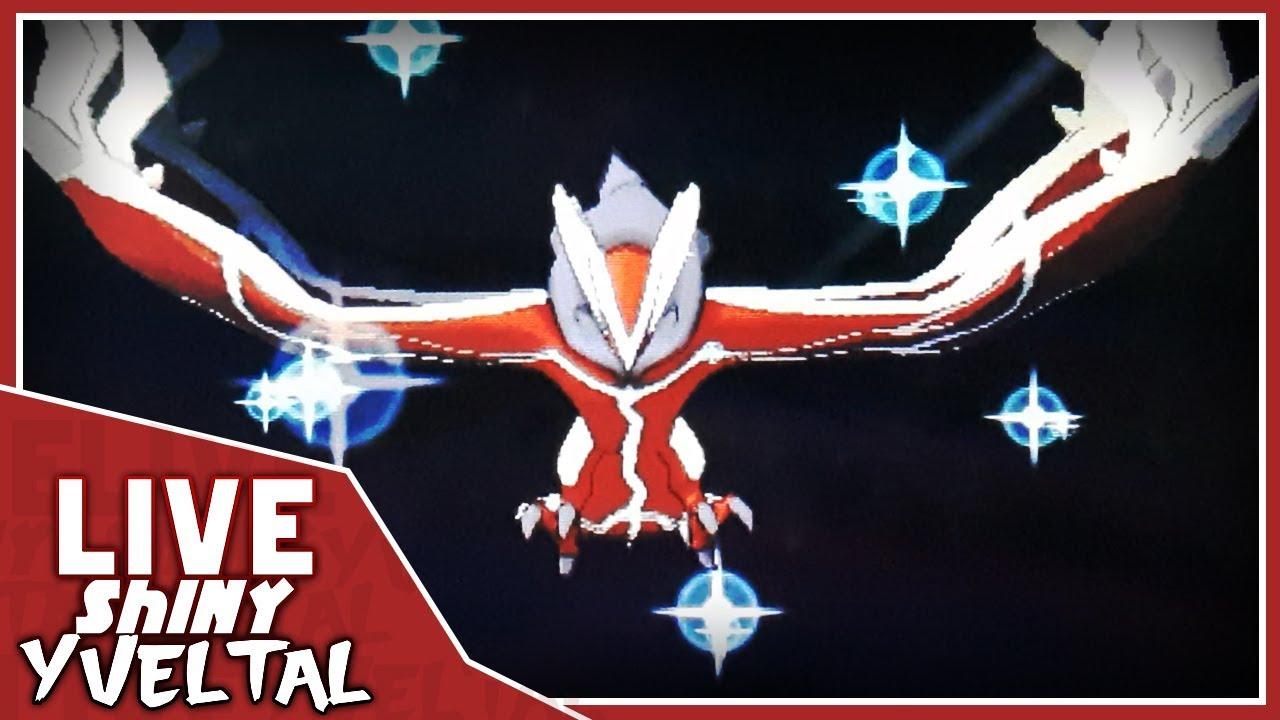 Live Shiny Yveltal after 2,380 Run Aways on Pokemon Y #3 ...