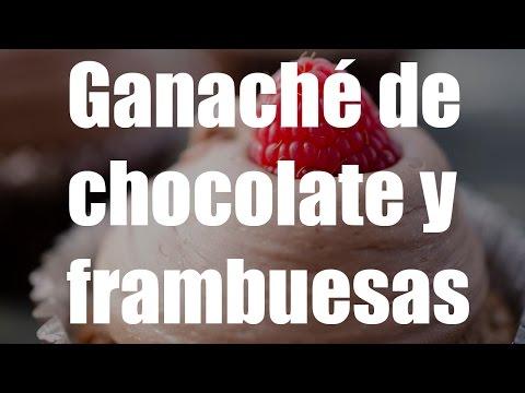 cómo-hacer-ganache-de-chocolate-y-frambuesas-♡-bocados-divinos