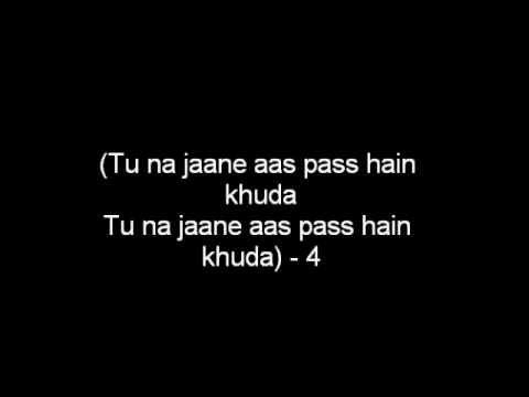 Aas Pass Hai Khuda Lyrics (HD)