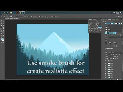 Adobe Photoshop Most Easy Way Landscape Art – JH Graphics