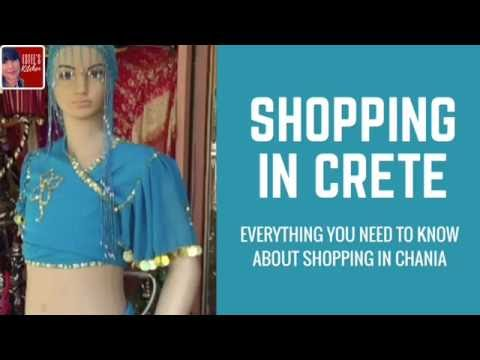 Day 5 Travel tips about shopping in Crete