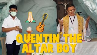 Quentin the Altar Boy | CANDY & QUENTIN | OUR SPECIAL LOVE