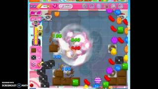 Candy Crush Level 1621 help w/audio tips, hints, tricks