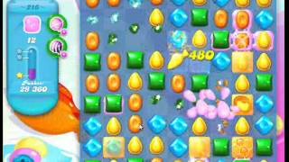 Candy Crush Soda Saga Level 216