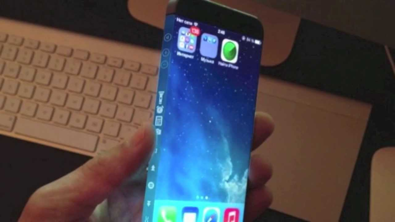 IPhone 6 Concept Features Three Sided Display Video 2014