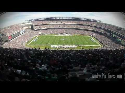 NFL Time Lapse: Lincoln Financial Field (BAL@PHI - Sideline GoPro)