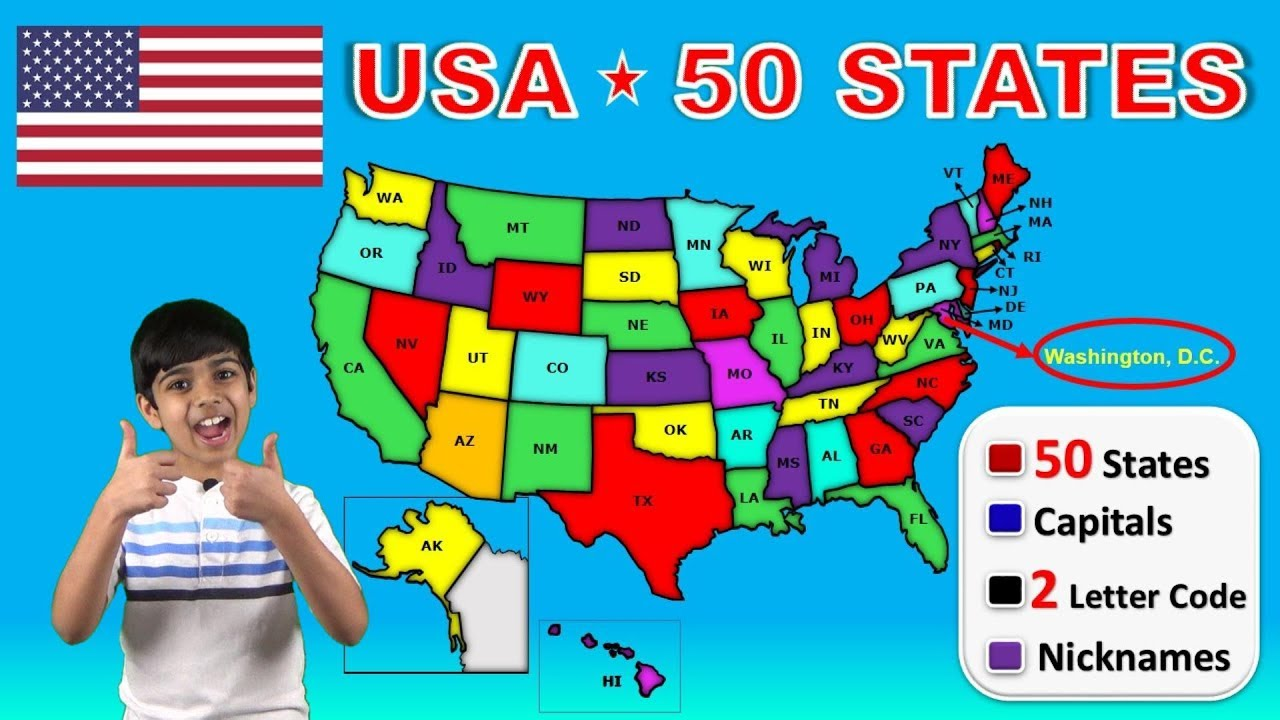 What you need to know before you travel read more. Learn 50 Us States With Capitals Usa 50 States Nicknames 2 Letter Codes Abbreviations Youtube