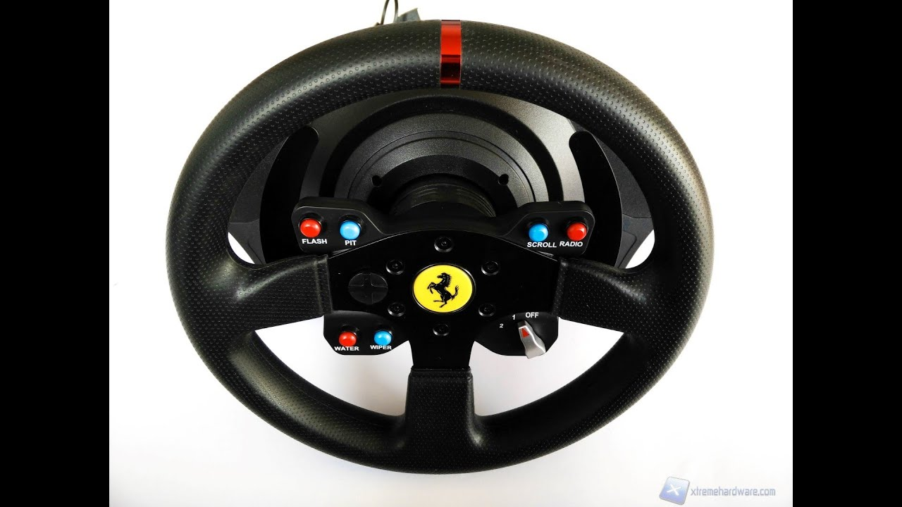 unboxing thrustmaster t300 ferrari gte youtube. Black Bedroom Furniture Sets. Home Design Ideas