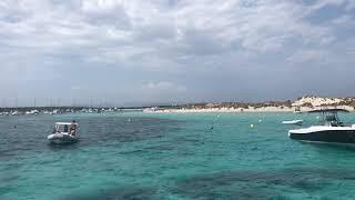 フォルメンテーラ島 海