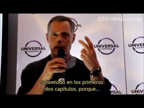 """Conferencia de Prensa de Jason Beghe en Buenos Aires (""""Chicago P.D."""")"""