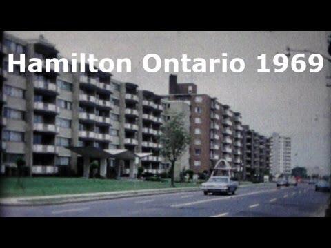 Hamilton Ontario Canada  1969