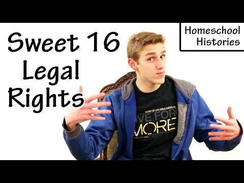 Sweet 16 Legal Rights
