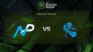 NewBee vs Team NP, Game 1, Group B - The Boston Major