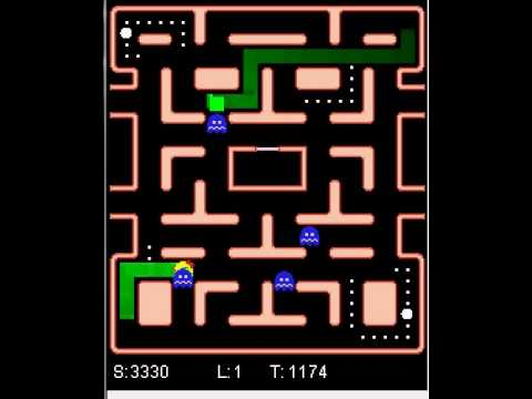 Mixed Ghost Ms. Pac-Man: Split Sensors: Three Module Multitask