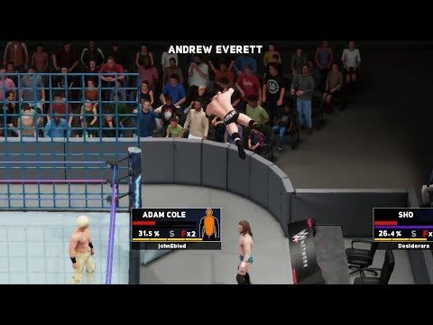 nL Live - Outside the Cage Glitch! [WWE 2K18]