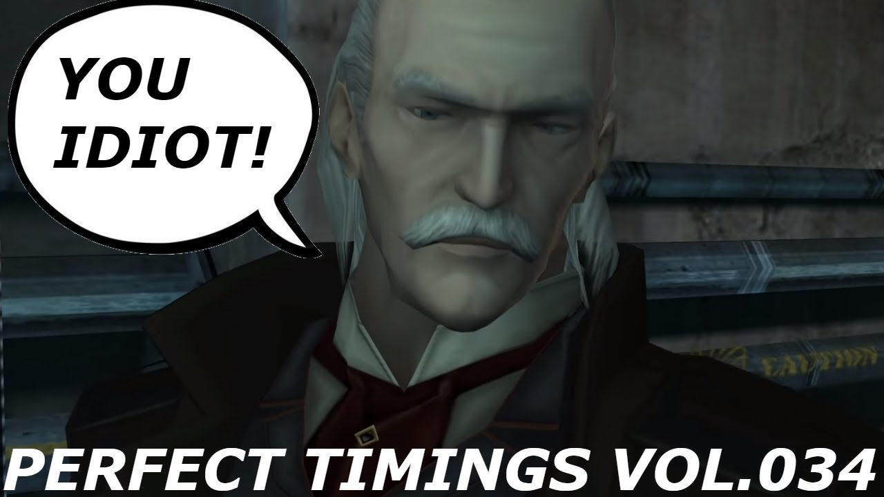 MGS - Perfect live stream timings & other moments. (Vol034)
