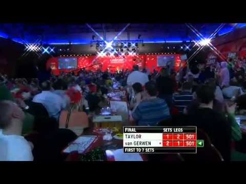PDC 2013 FINAL Phil 'THE POWER' Taylor DESTROYS Van Gerwen for 16th WORLD TITLE!