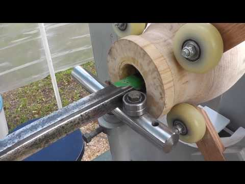 Hollowing system for wood lathe